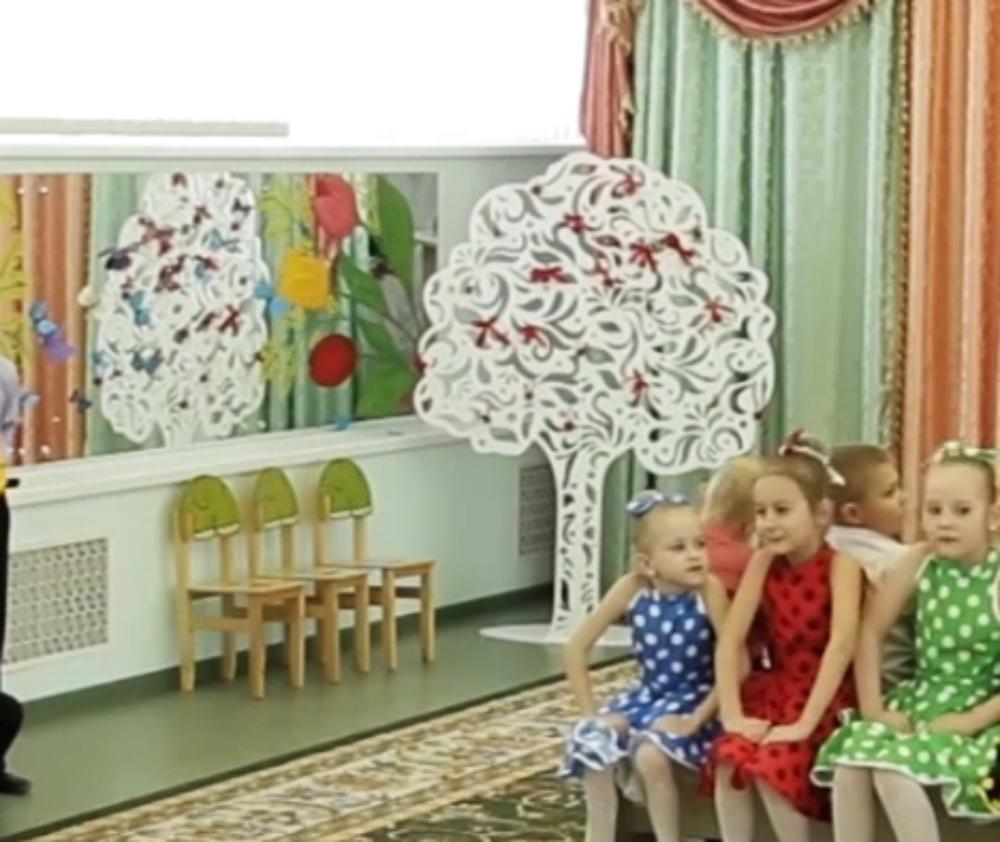Laser Cut Tree and Kids Furniture Free Vector
