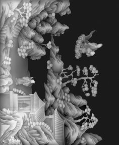 Best 3D Grayscale Relief Image BMP File