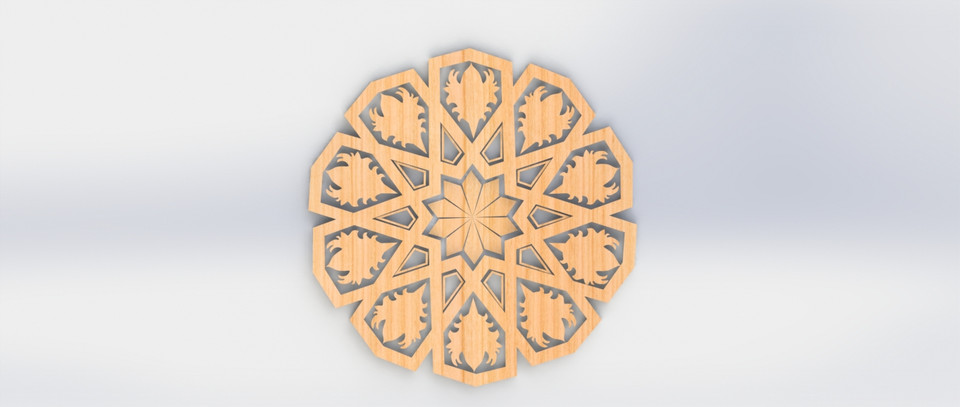 Islamic Decorations stl file