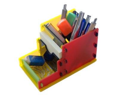 Laser Cut Acrylic Desktop Organizer PDF File