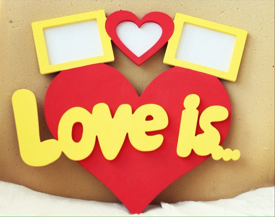 Love Is Laser Cut Free Vector