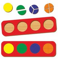 Laser Cut Wooden Educational Toy Preschool Shape Toy For Boys Girls Free Vector