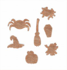 Laser Cut Wooden Base For Bead Embroidery Free Vector
