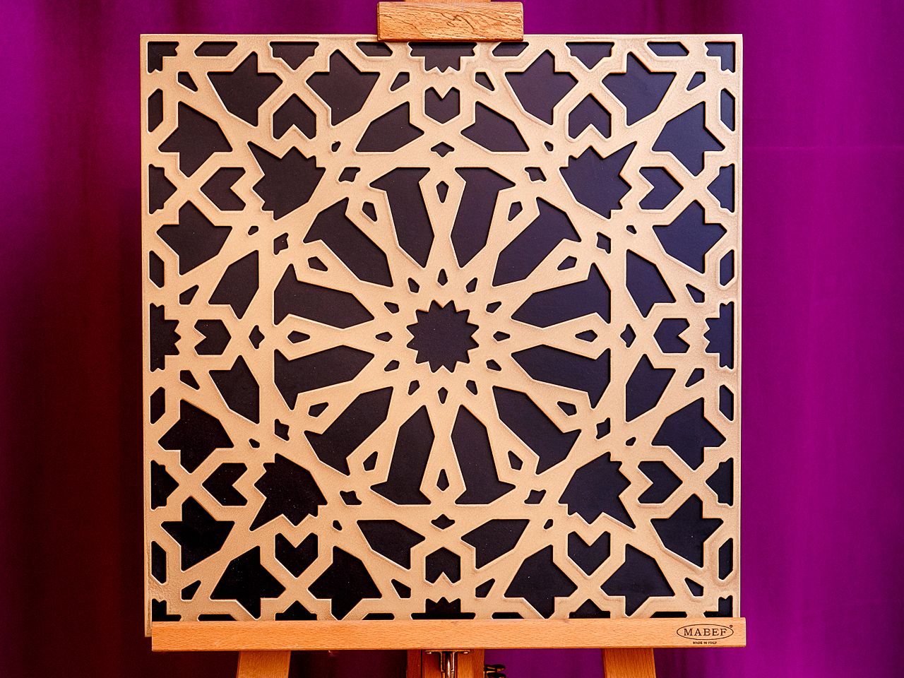 Laser Cut Decor Screen Islamic Pattern Seamless Arabic Geometric Pattern DXF File