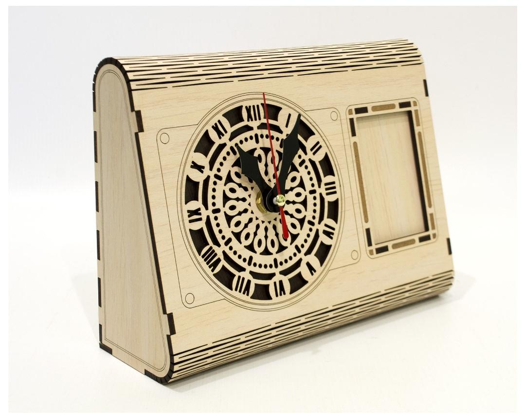 Box Clock DXF File