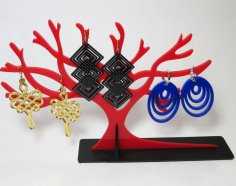 Laser Cut Jewelry Tree Stand Acrylic 3mm SVG File