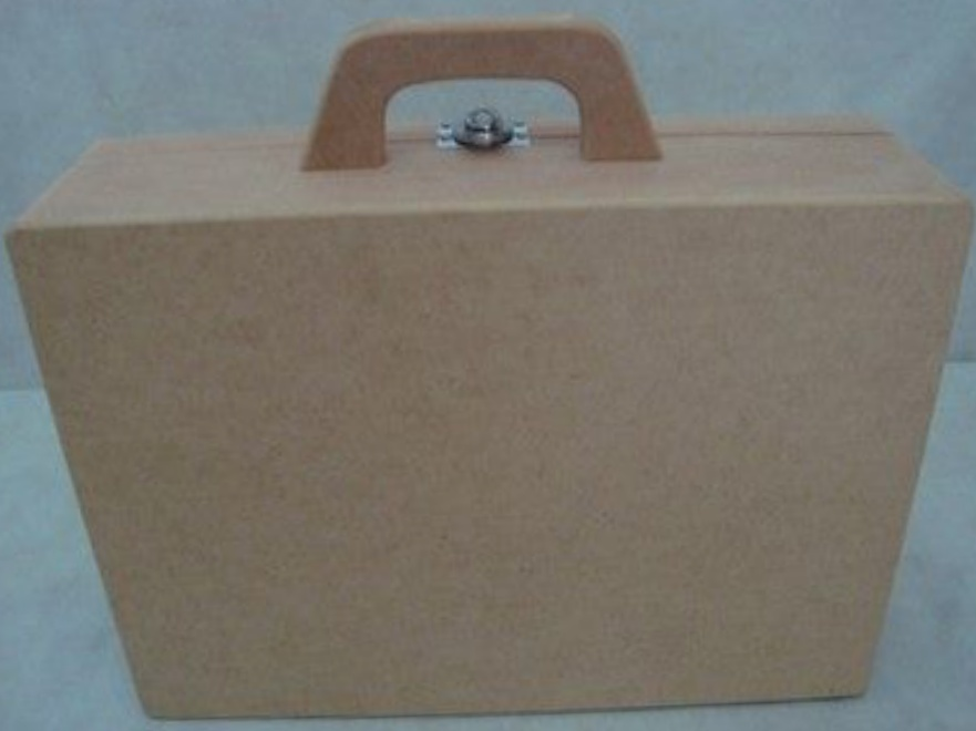 Laser Cut Suitcase 3mm Free Vector