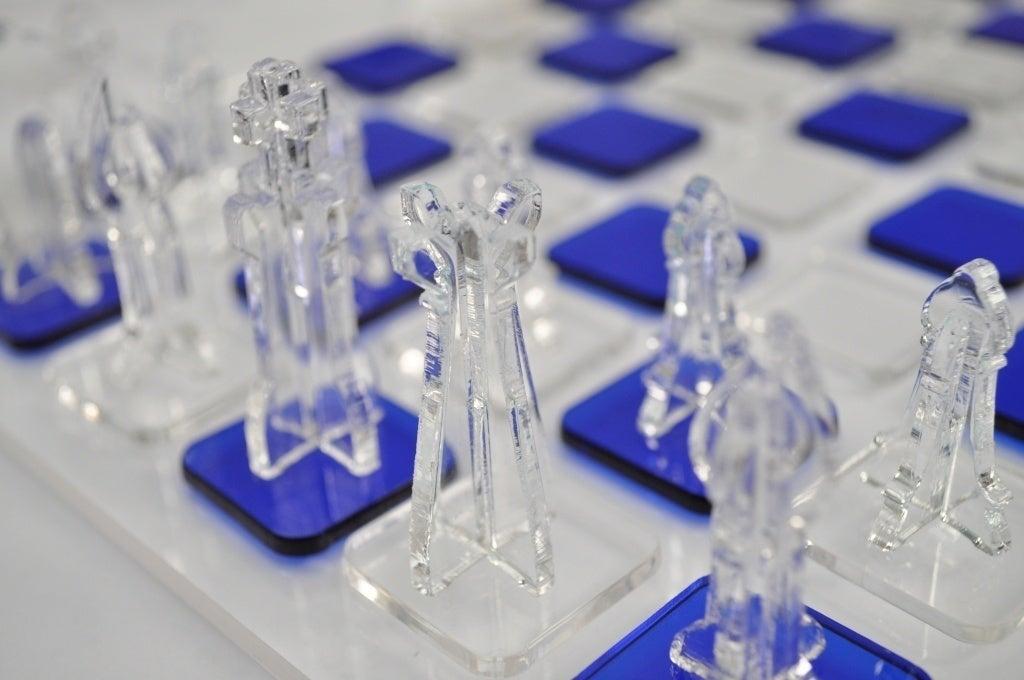 Laser Cut Acrylic Chess Set SVG File