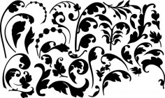 Flourish Elements Free Vector
