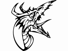 Dragon 013 full dxf File