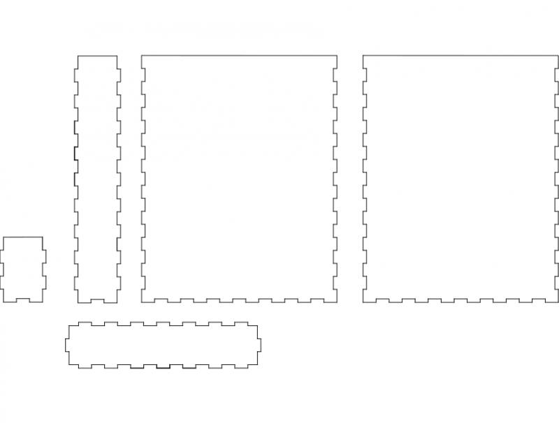 Boxpaper dxf File