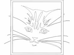 Gato 2(Cat) dxf File