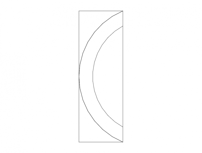 Mdf Door Design 8 dxf File