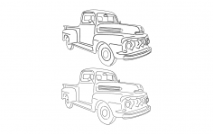Truck 4 dxf File