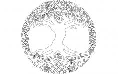 Yggdrasil dxf File