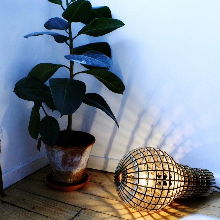 Lamp Bulb dxf File