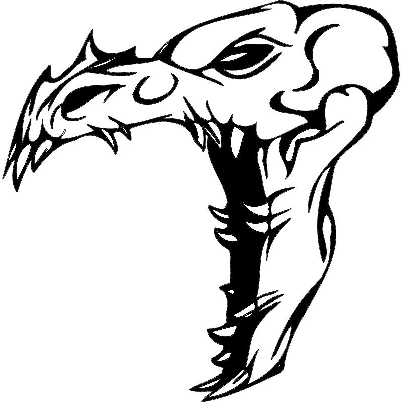 Skull 015 dxf File