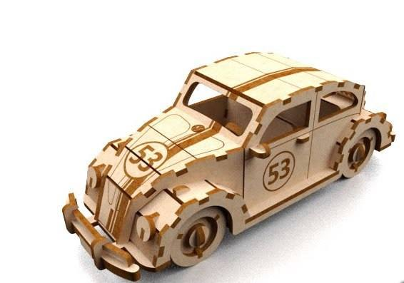 Herbie 3mm dxf File