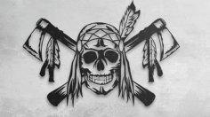 kafatası avcısı dxf File