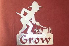 Gardener Grow dxf File