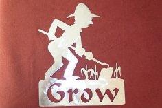 Gardener Grow dxf File