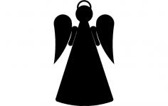 Angel stake 2b dxf File