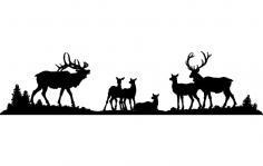 Elk dxf File