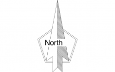 North Arrow dxf File