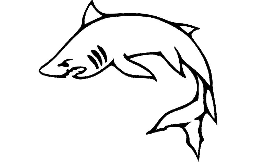 Fish dxf File