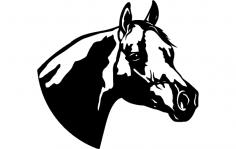 Horse Clip dxf File