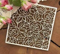 Decorative Pattern Laser Cut