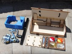 Plywood Tackle Box