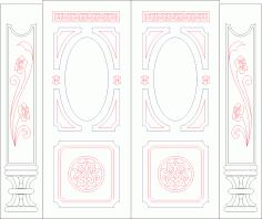 Panel Designs Free Vector