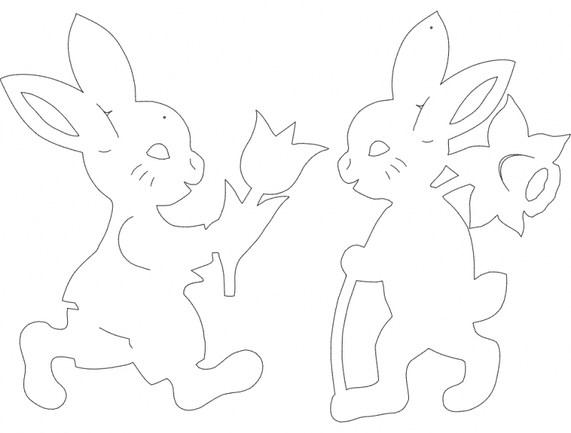 hase-t-o(1) dxf File