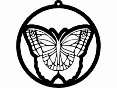 Borboleta 2 dxf File