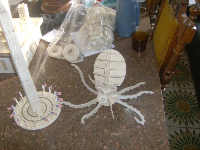 Octopus Model Flat dxf File