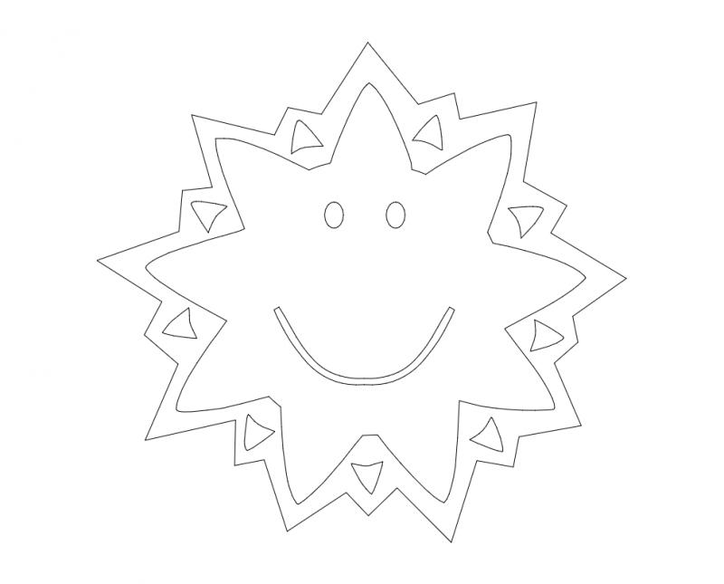 Star Design dxf File