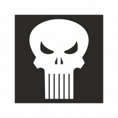 The Punisher Free Vector