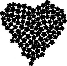 Posy Heart CDR File