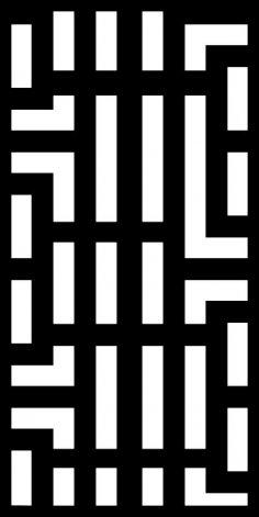 Seamless Pattern Black White Striped Free Vector