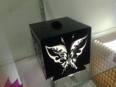 Luminaria Caixa dxf File