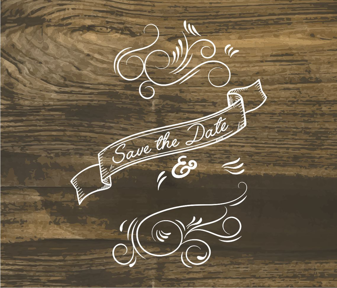 Save The Date dxf File