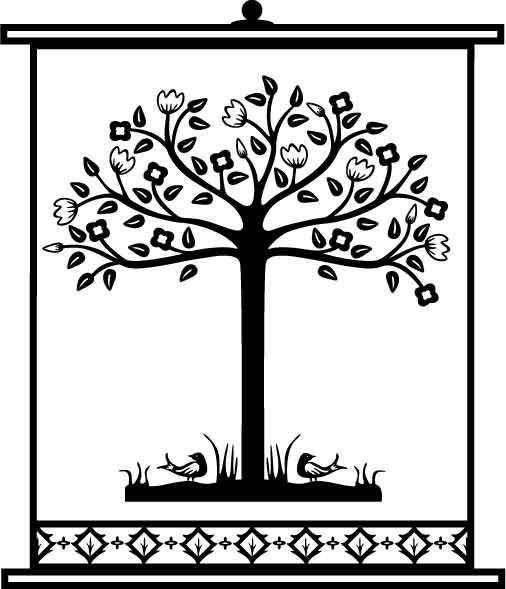 Tree Design Pattern 25 Free Vector
