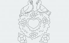 Valentine 4 dxf File