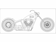 Chopper 2 dxf File