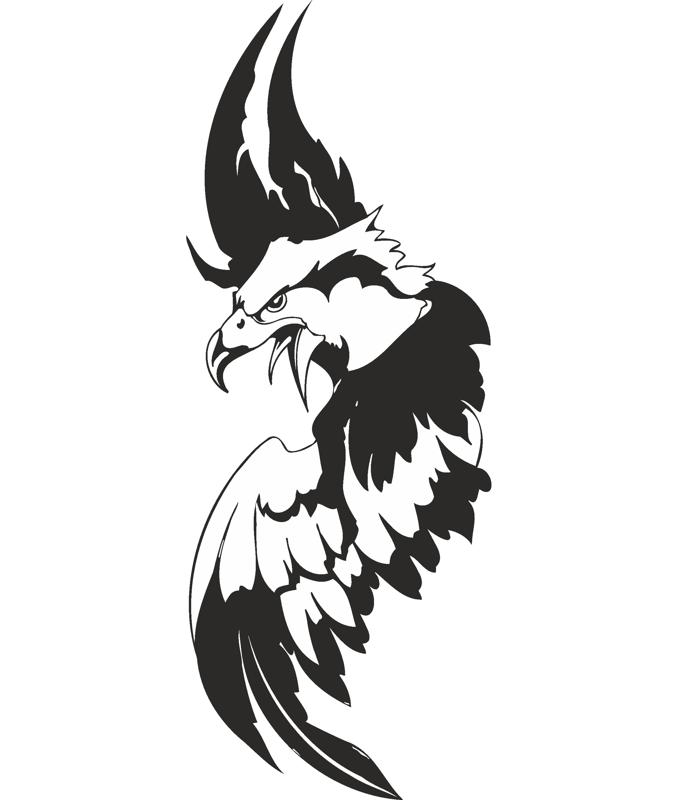 Eagle Sticker Free Vector