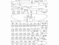 P301 Spiritfire (P301 Spitfire) dxf File