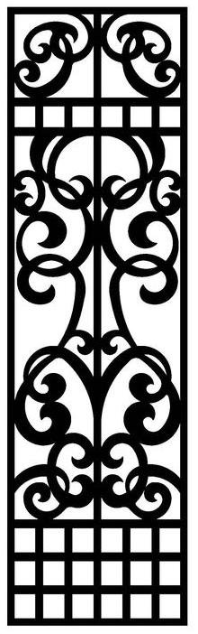 Grille Pattern SVG File