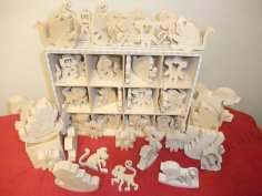 Monkey Plywood Toys PDF File