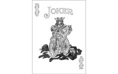 Joker 808 dxf File